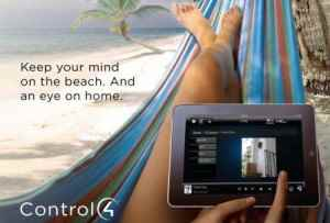 Control4 Control your home from where ever you are, even the beach