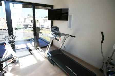 Lifestyle sound and av in the home gym. Sound and Image Gauteng project.