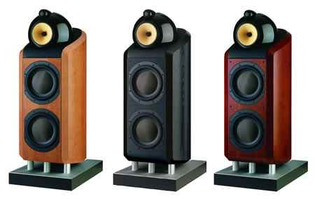 Bowers and Wilkins B&W 800series speakers in different colours