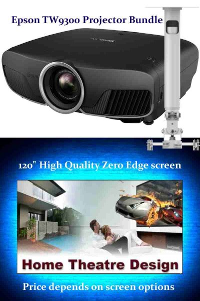 Epson TW-9300 Home Theatre Projector | Sound and Image